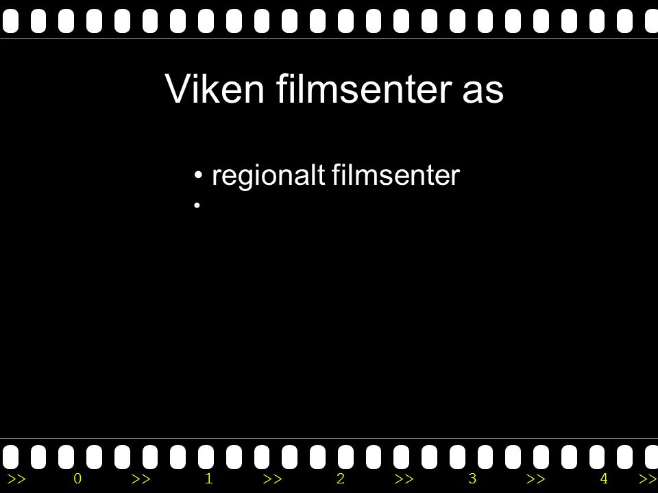 Viken filmsenter as regionalt filmsenter