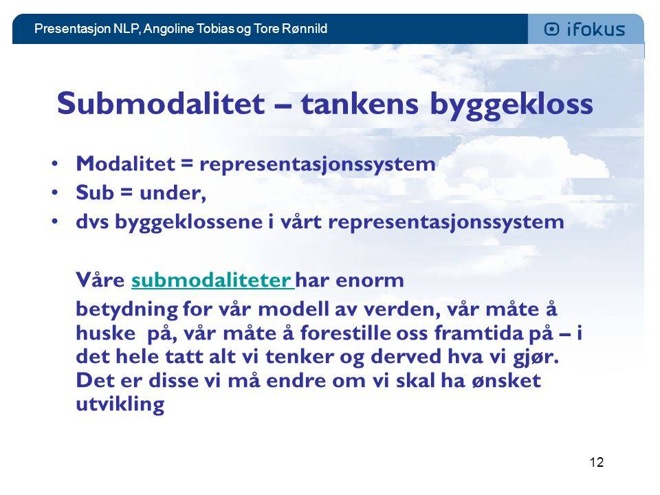 Submodalitet – tankens byggekloss