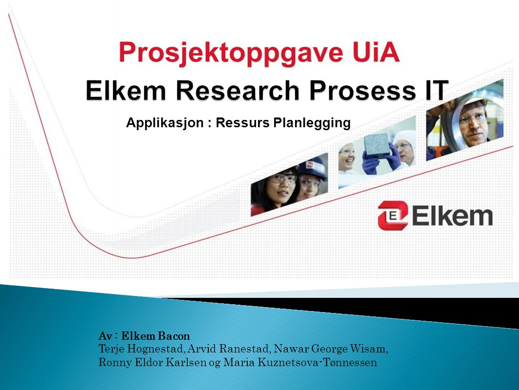 Elkem Research Prosess IT