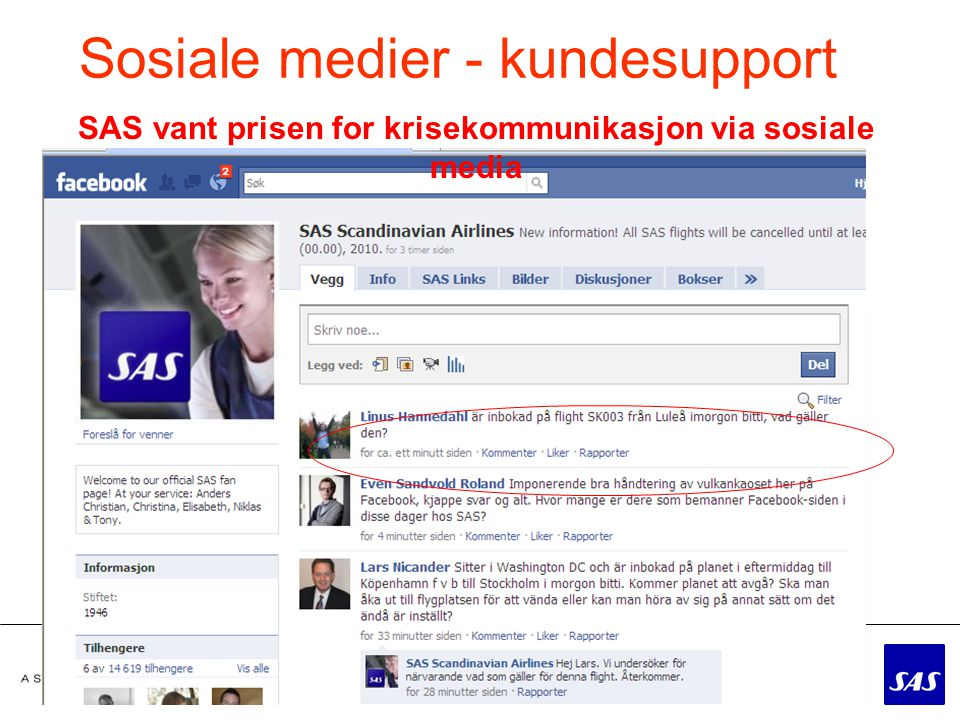 Sosiale medier - kundesupport