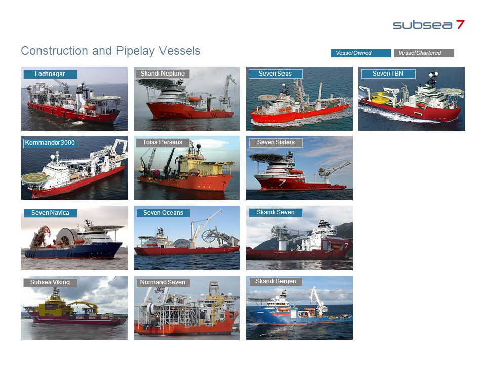 Construction and Pipelay Vessels