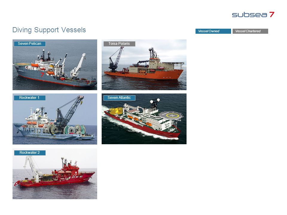 Diving Support Vessels