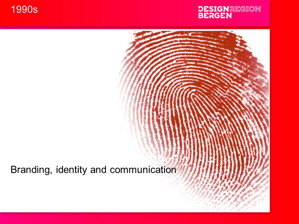 Branding, identity and communication