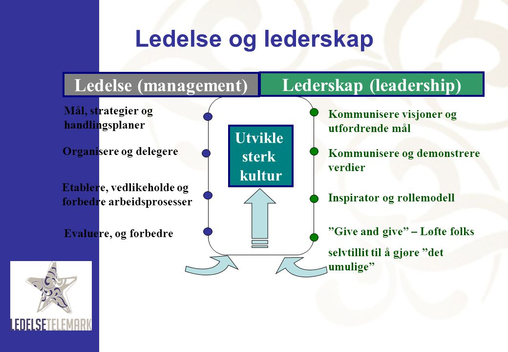 Lederskap (leadership)