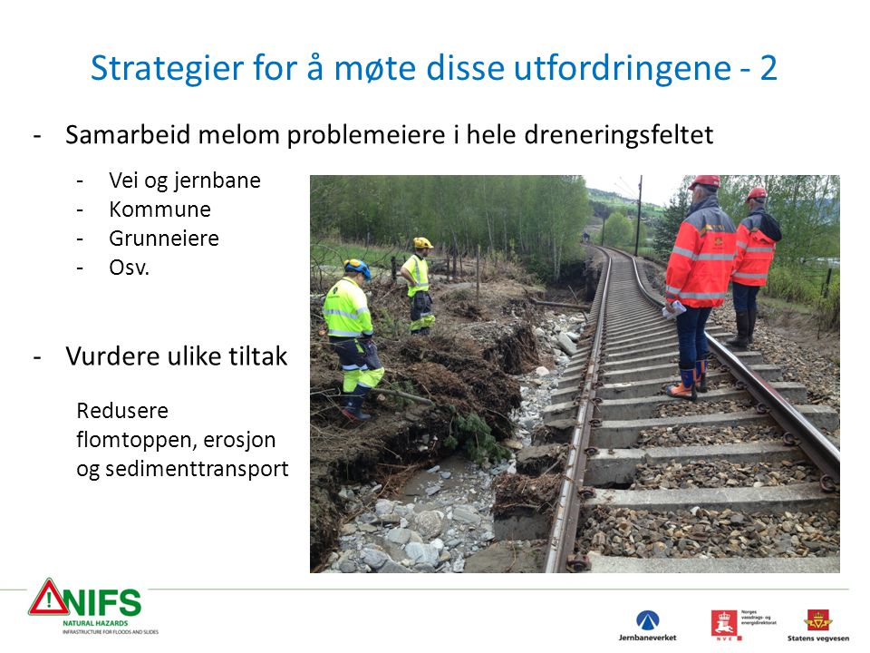 Strategier for å møte disse utfordringene - 2