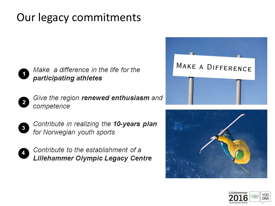 Our legacy commitments