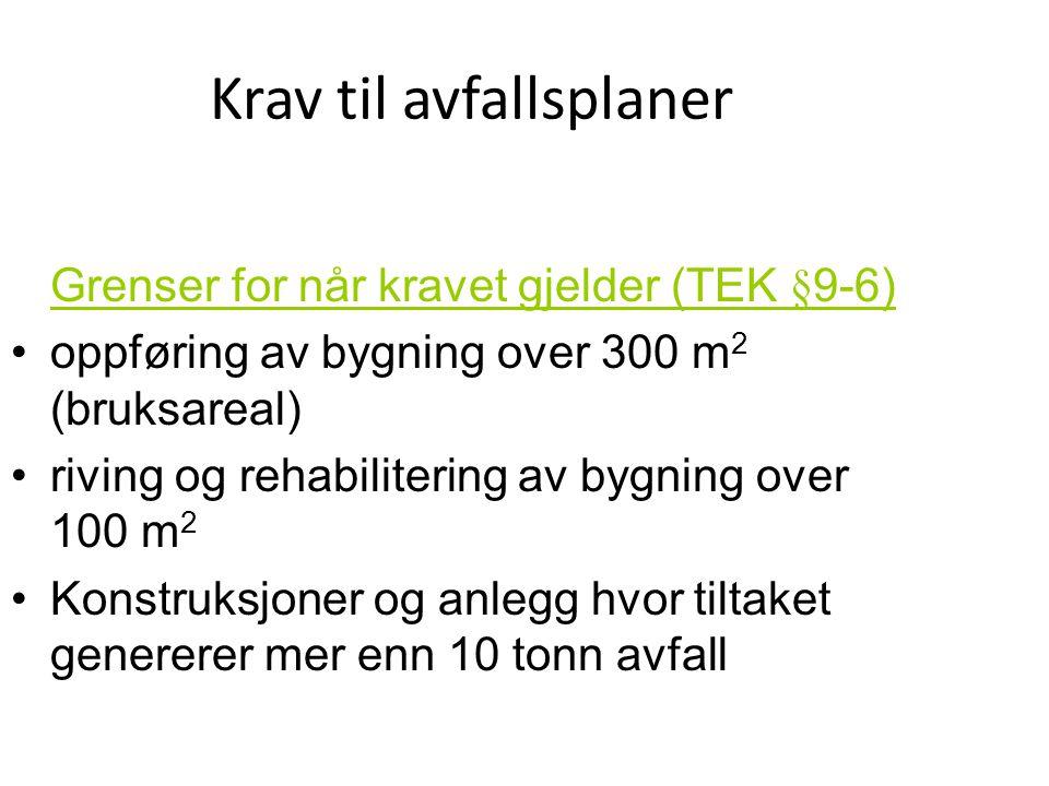 Stavanger Kommune Byggesak Krav Til Avfallsplaner Sluttrapport Ppt Laste Ned