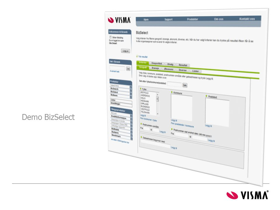 Demo BizSelect Gartner: