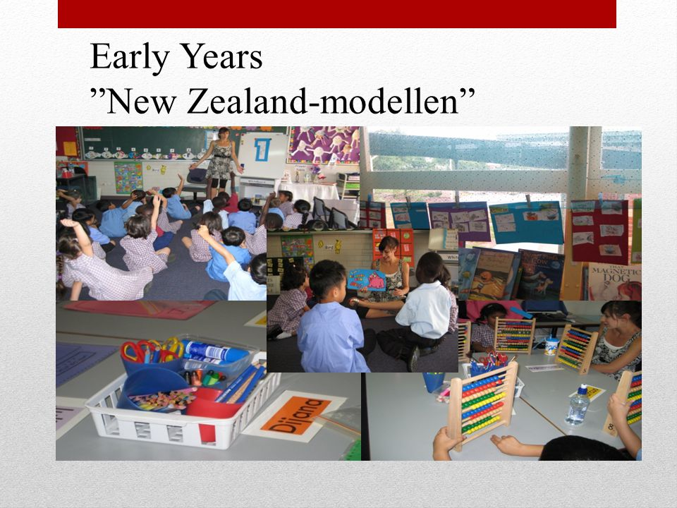 Early Years New Zealand-modellen