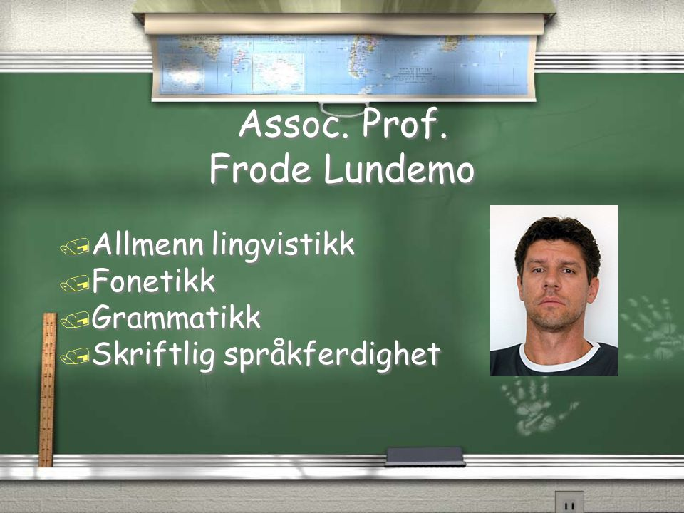 Assoc. Prof. Frode Lundemo