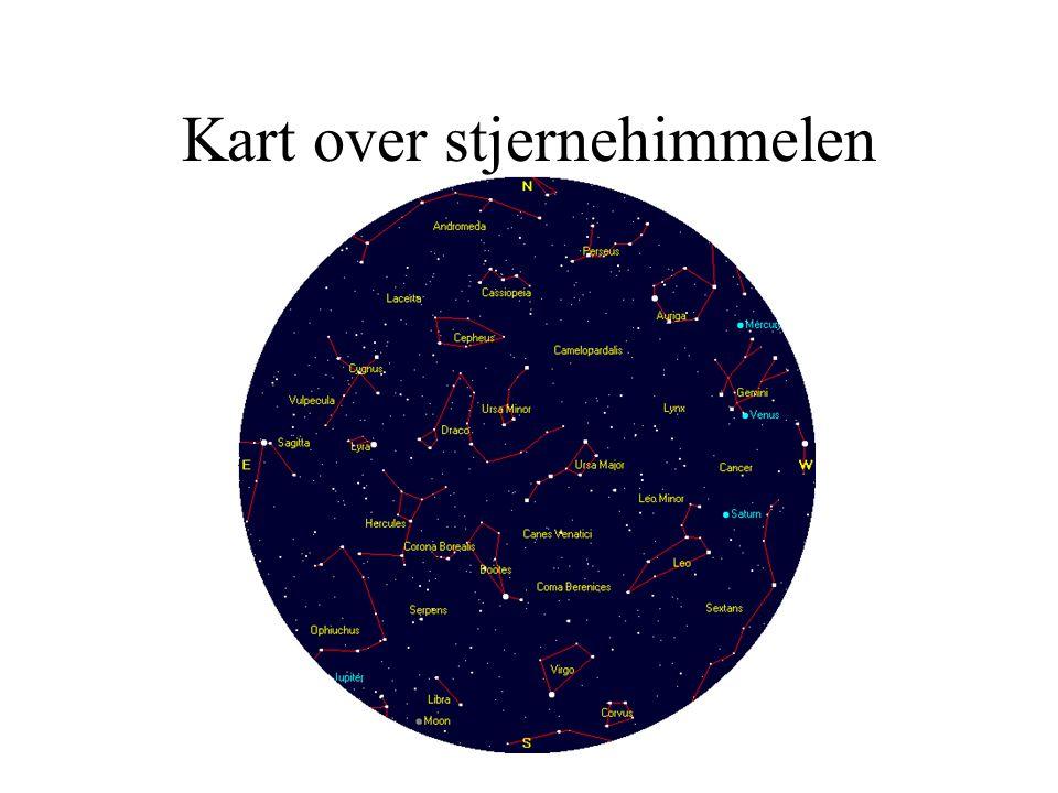 stjernehimmelen kart Verdensrommet 1. – 2. trinn.   ppt video online laste ned stjernehimmelen kart